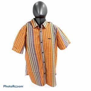 Rocawear Men's Tartan button up shirt Size XL